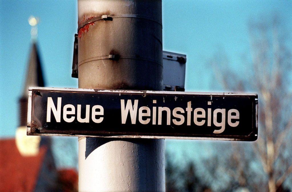 Anwohner an der Neuen Weinsteige sind über die Pläne, einen Radweg zu bauen, nicht durchweg erfreut. (archivfoto) Foto: Archiv