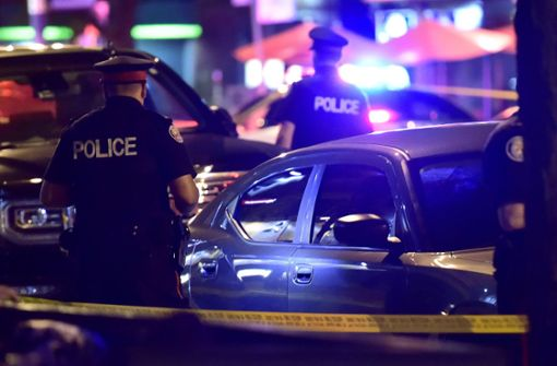Neun Menschen bei Schießerei verletzt