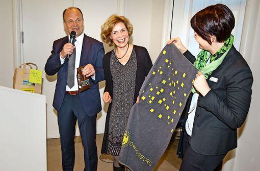 Ludwigsburg hat wieder eine Bürgermeisterin