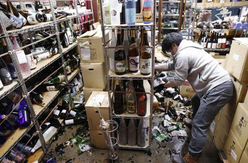 Starkes Erdbeben im Nordosten Japans - keine Tsunami-Gefahr