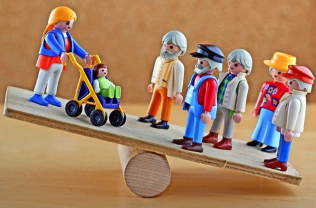 Der demografische Wandel sei Stuttgart bisher  noch kaum anzumerken, sagt Ansgar Schmitz-Veltin vom Statistischen Amt der Stadt Stuttgart. Foto: dpa