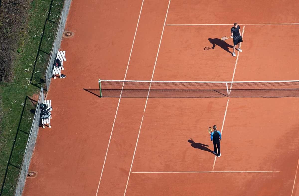 Tennis bleibt im Corona-November erlaubt. Foto: dpa/Sven Hoppe