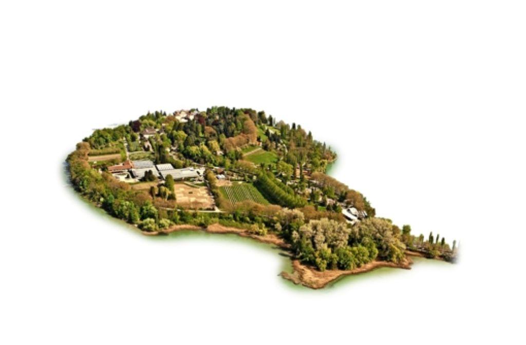 Auch die Insel Mainau wird sicher bald zum Kreis Ludwigsburg gehören. Foto: dpa
