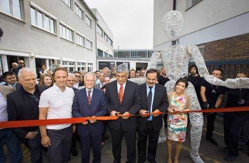 Statt Kolben: in Feuerbach wird jetzt Kunst produziert