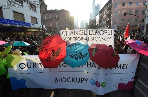 Blockupy will weitermachen