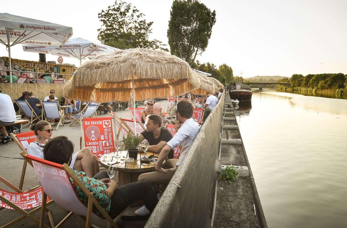 Auf Fridas Pier findet am Sonntag die Veranstaltung Lovepop zum CSD statt. Foto: Lichtgut//dinando Iannone
