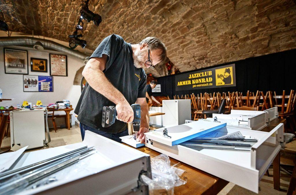 Der Jazzclub Armer Konrad nutzt die Zwangspause für Reparaturen. Foto: Gottfried Stoppel