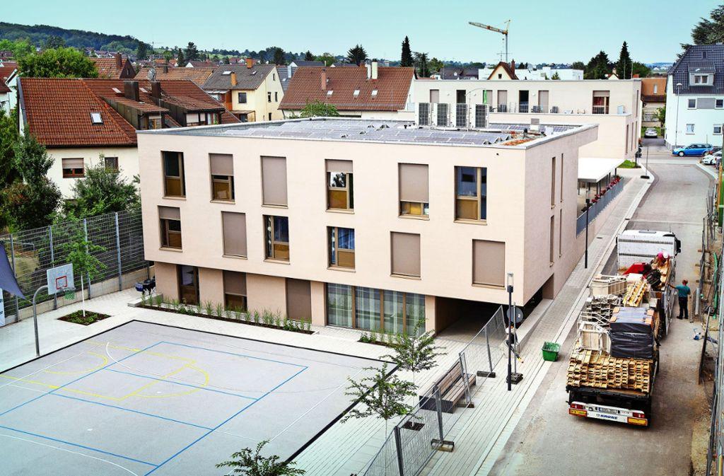 Im Neuhausener Quartier der Generationen besitzt die Kinder- und Jugendhilfe ein modernes Gebäudeensemble. Foto: Ines Rudel