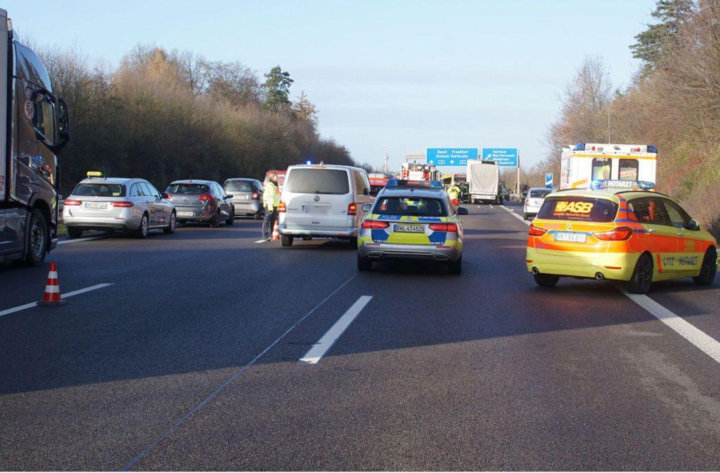 Die Polizei meldete, dass zahlreiche Autofahrer keine Rettungsgasse bildeten. Foto: SDMG/SDMG / Gress