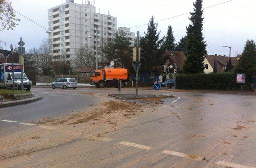 Wasserrohrbruch sorgt für Verkehrschaos