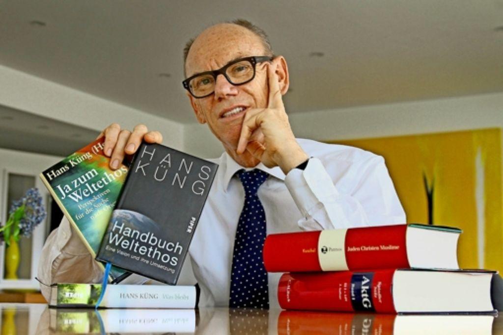 Hans Küng hat die  Stiftung initiiert; Stilz steht jetzt an deren Spitze. Foto: factum/Granville