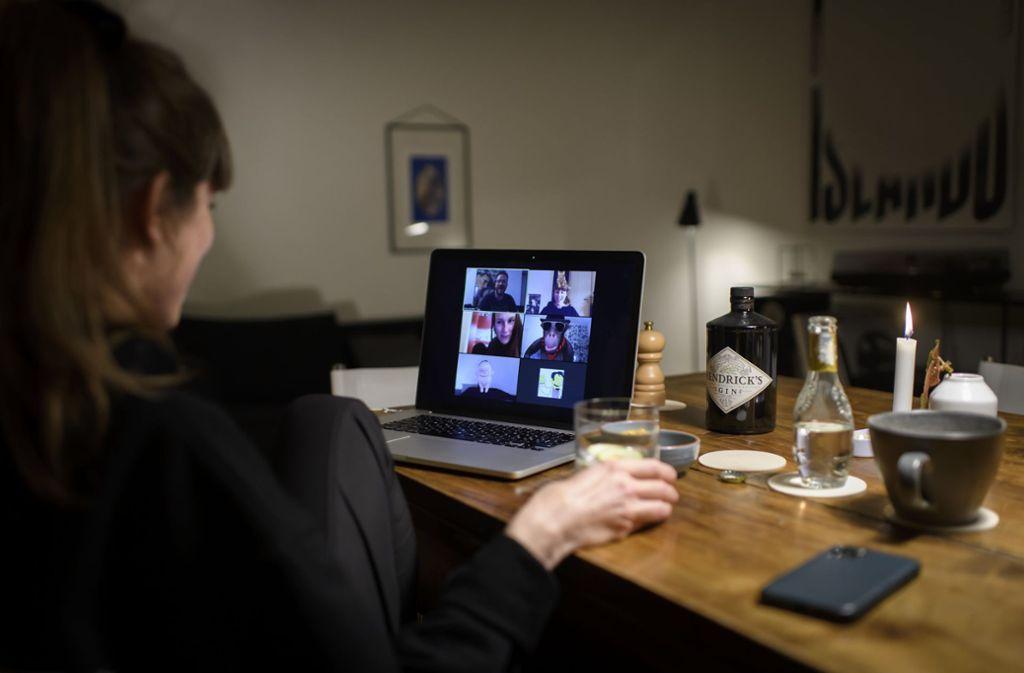 In Zeiten der Corona-Krise sind Video-Tools gefragte Mittel, um die Verbindung nach außen nicht zu verlieren. Foto: dpa/Anthony Anex