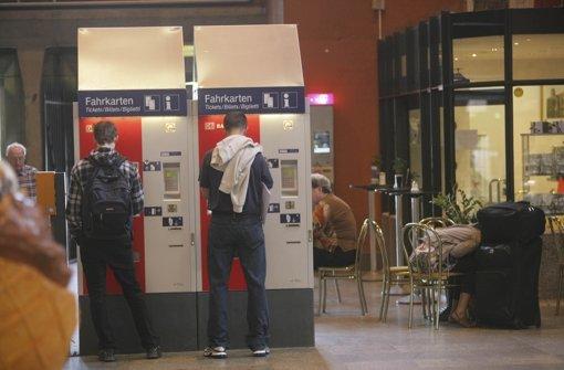 Fehler im Ticketautomat