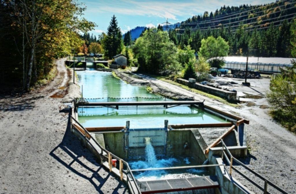 So ähnlich wie die Versuchsanlage des Schachtkraftwerk auf dem Gelände der Versuchsanstalt für Wasserbau und Wasserwirtschaft sehen die Kraftwerke aus. Foto: Uli Benz/TU München
