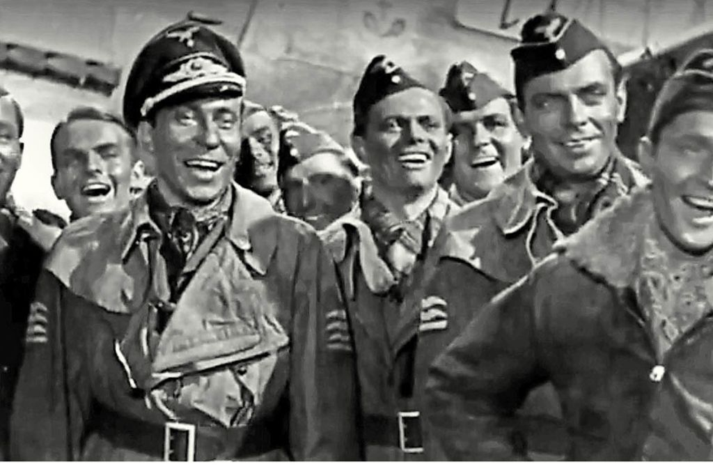 """Leicht zu finden: in Deutschland verbotene Filme wie Karl Ritters """"Stukas"""" von 1941 Foto: Youtube"""