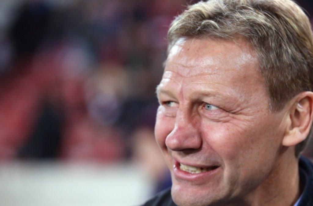 Guido Buchwald versteht Bundesatriner Jogi Löw, was die Kritik an Kevin Großkreutz vom VfB Stuttgart angeht.  Foto: Pressefoto Baumann