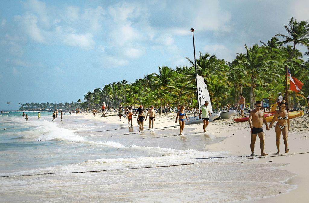 Die Tester fanden unter anderem bei  dem Urlaubsziel  Punta Cana (Dominikanische Republik) deutlich unterschiedliche Preise heraus. Foto: dpa