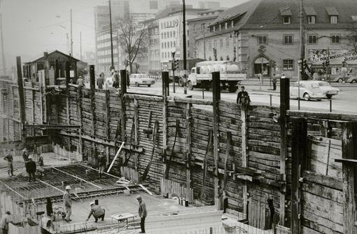 Faszinierende Fotos von Dauerbaustellen der 1960er