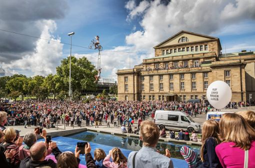 Opernintendant Jossi Wieler fordert Mut im Städtebau
