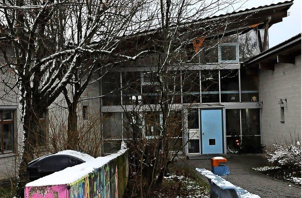 """Die Kita Ottmarsheimer Straße kam in den Genuss der Förderung als   """"Kinderfamilien-Zentrum"""", fiel aber 2016 wieder heraus. Foto: Georg Linsenmann"""