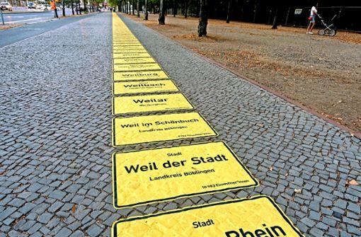 Weil der Stadt ist in Berlin