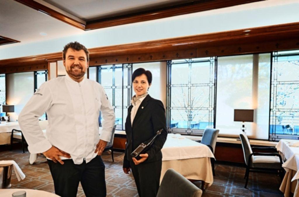 Stehen für den Neustart: Sebastian Prüßmann und Melanie Layer Foto: Heinz Heiss