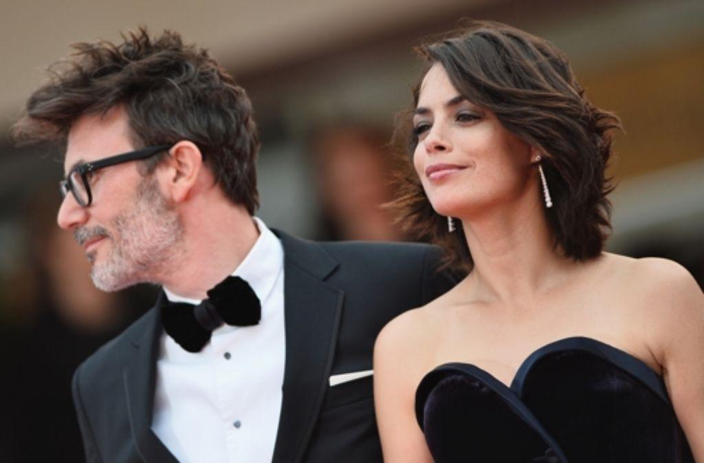 Glamour à la française in Cannes: Regisseur Michel Hazanavicius und seine Frau, die Schauspielerin Bérénice Bejo Foto: Getty Images Europe