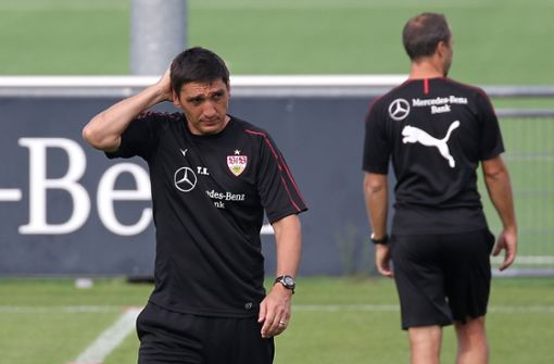 Vor dem VfB Stuttgart liegt noch viel Arbeit