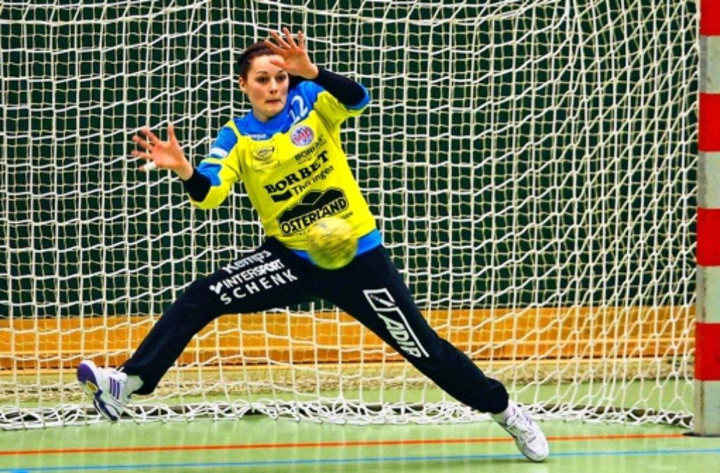 Dinah Eckerle: mit dem Thüringer HC schon zweimal Deutscher Meister. Foto: Mario Gentzel