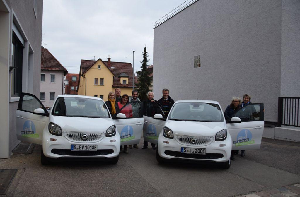Die Ilm und das GPZ haben im November 2018 je einen Elektro-Smart geschenkt bekommen. Foto: Alexandra Kratz