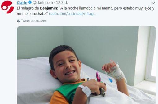 Fünfjähriger nach einem Tag in der Wüste wiedergefunden