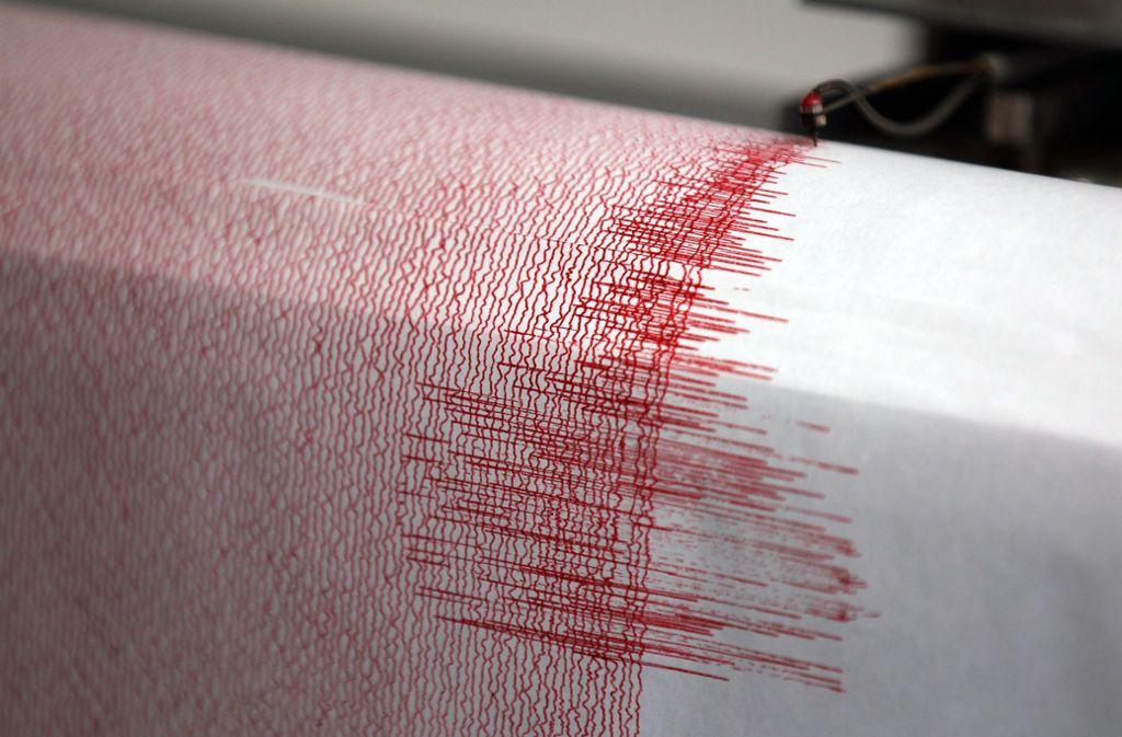Das Erdbeben hatte eine Stärke von 7,7. (Symbolfoto) Foto: Oliver Berg/dpa/Oliver Berg