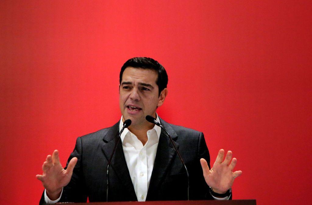 Der griechische Ministerpräsident Alexis Tsipras kritisiert Wolfgang Schäuble scharf. Foto: AFP