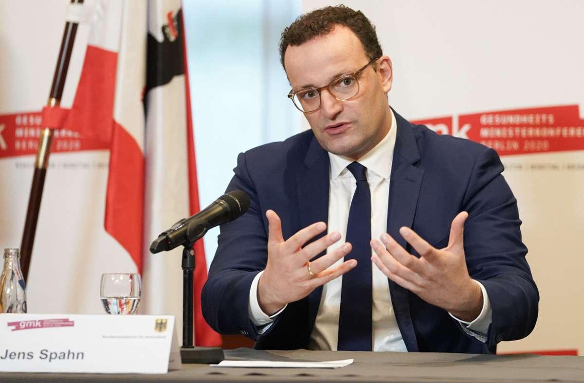 Bundesgesundheitsminister Jens Spahn. Foto: dpa/Jörg Carstensen