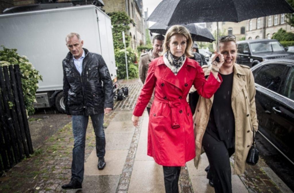 Ministerpräsidentin Thorning-Schmidt muss zittern. Bei der Dänemark-Wahl zeichnet sich ein enges Rennen ab. Foto: dpa