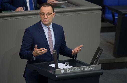 Gesundheitsminister Spahn plant massenhaft Tests in Pflegeheimen