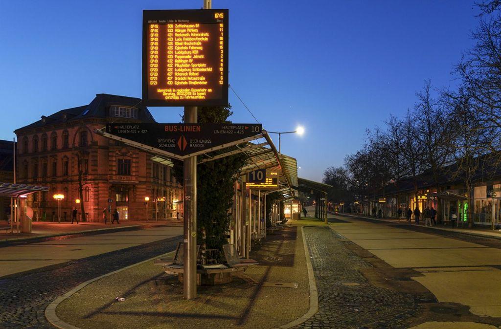 Kriminalitätsschwerpunkt: Der Bahnhof in Ludwigsburg Foto: factum/Bach