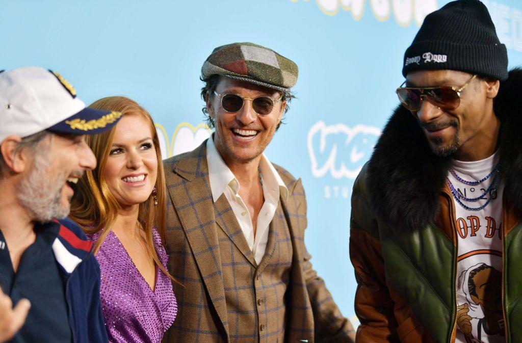 """Einiges zu Lachen gab es auf der Filmpremiere der neuen Komödie """"Beach Bum"""" in Los Angeles. Foto: GETTY IMAGES NORTH AMERICA"""
