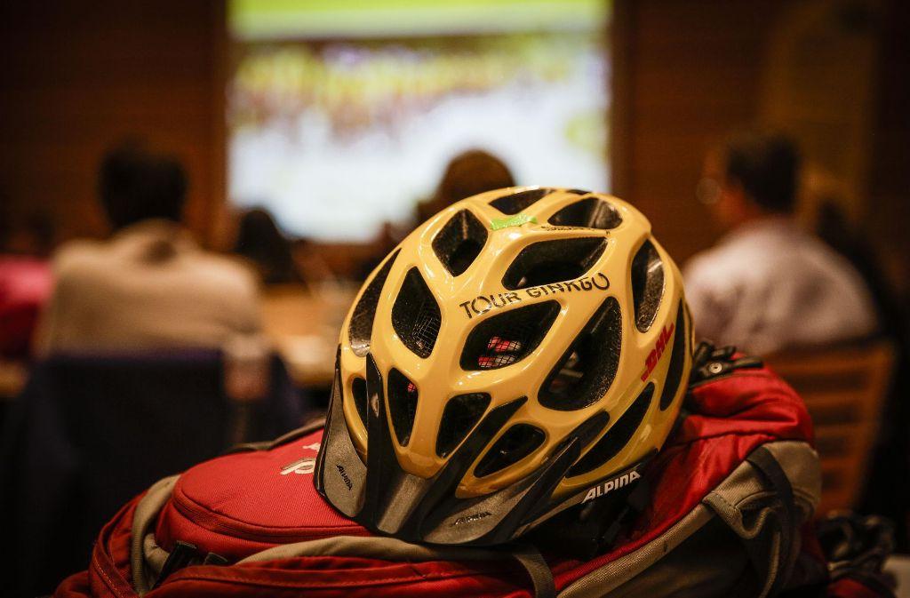Die Benefiz-Fahrradtour Ginkgo 2017 startet im Juni. Foto: Lichtgut/Leif Piechowski
