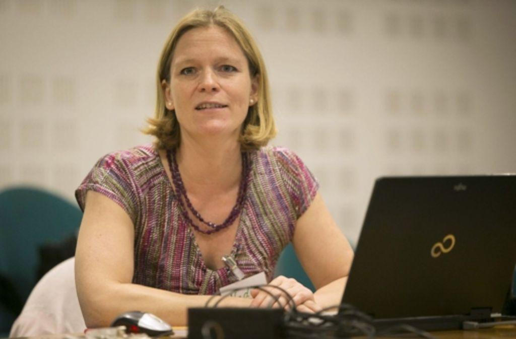 Nadia Köhler leitet die Stuttgarter Kinderzeitung. Foto: Michael Steinert