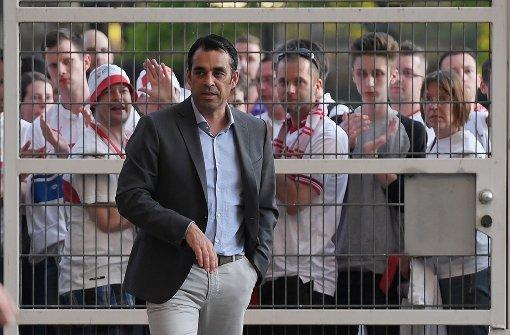 Robin Dutt kämpft für den VfB – und um seinen Job