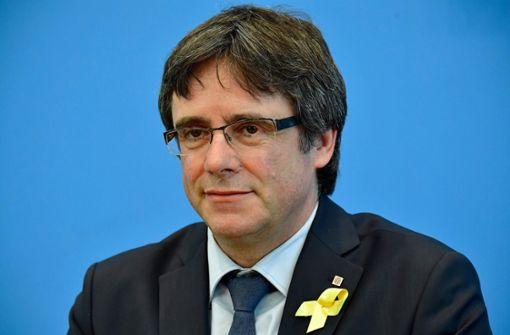 Katalanischer Separatistenführer will nach Belgien zurück