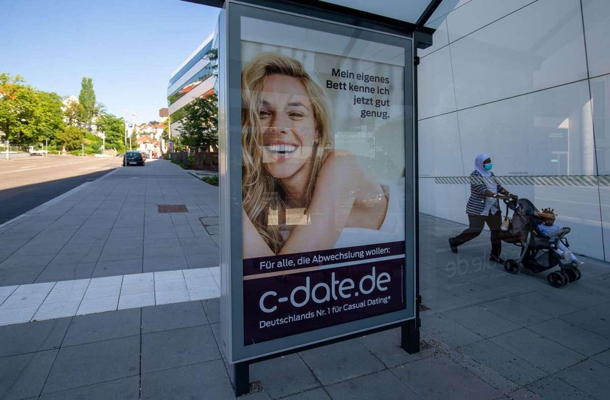 Reklame für Gelegenheitssex: Jetzt hagelt es Kritik. Foto: Lichtgut/Leif Piechowski