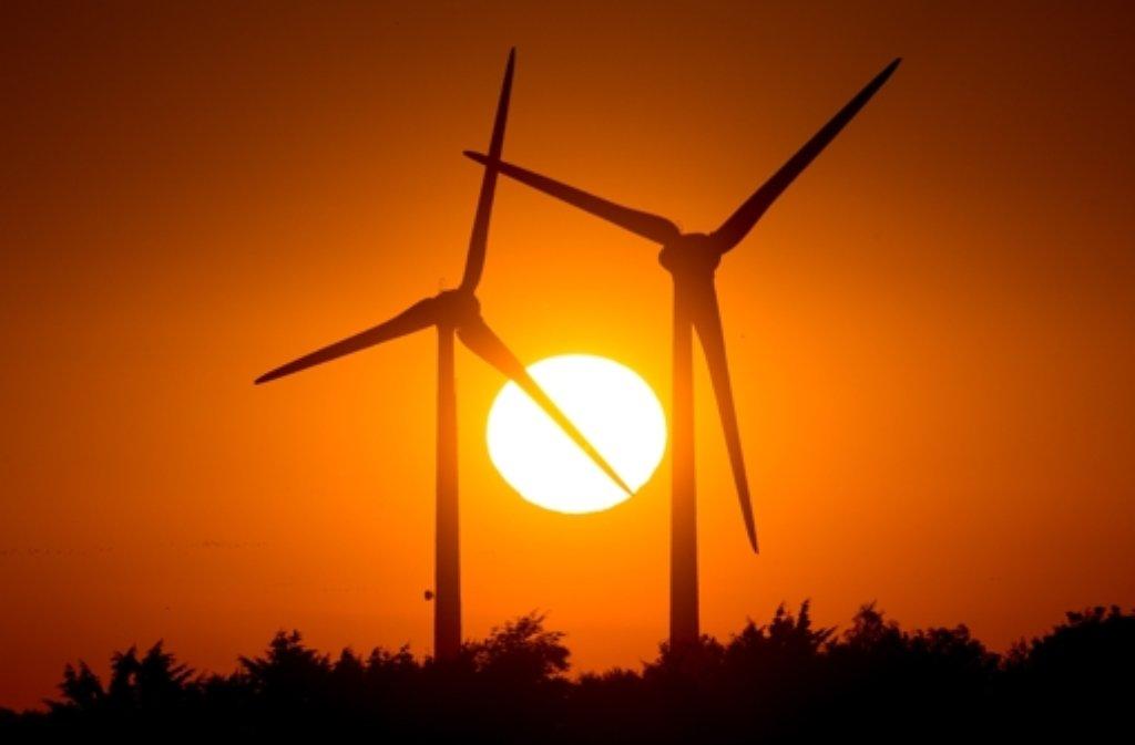In Baden-Württemberg sollen bis 2020 zehn Prozent der Stromerzeugung aus Windkraft kommen. Foto: dpa