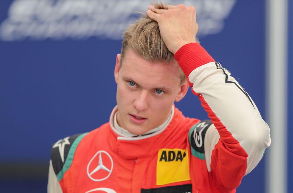 Mick Schumacher hat den bislang größten Erfolg seiner Karriere gefeiert. Foto: Bongarts