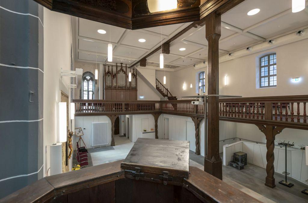 Die Spitalkirche ist nun wieder vorzeigbar.  Foto: factum/Weise