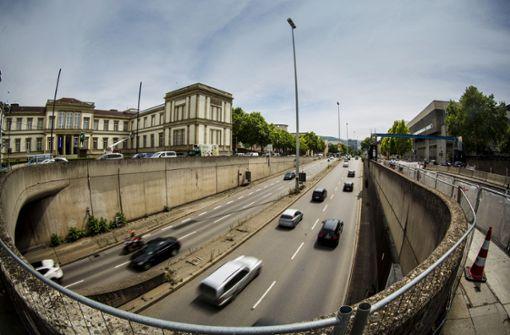 """B14 soll """"normale Stadtstraße"""" ohne Tunnel werden"""