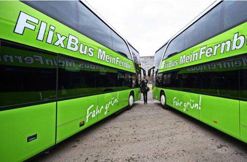 Der grüne Bus hält im April ein letztes Mal in Leonberg