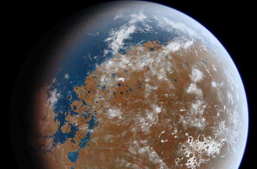 """""""Lake Martian"""": Die großen Seen des Roten Planeten"""