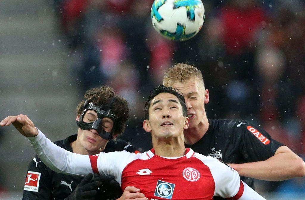 In Mainz hat der VfB Stuttgart was gutzumachen – und zwar gleich am ersten Spieltag der Bundesliga. Foto: dpa